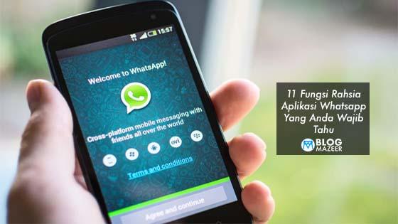 Inilah 11 Fungsi Aplikasi WhatsApp Yang Dirahsiakan