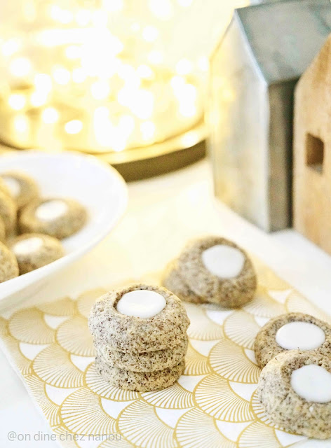 cookies de Noël , pavot , citron , bredele classique ,facile à faire , très bon