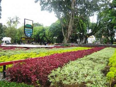 taman bunga cantik taman badak bandung