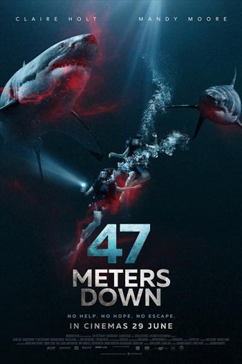47 Meters Down 2017 English 720p WEB-DL 700MB ESubs