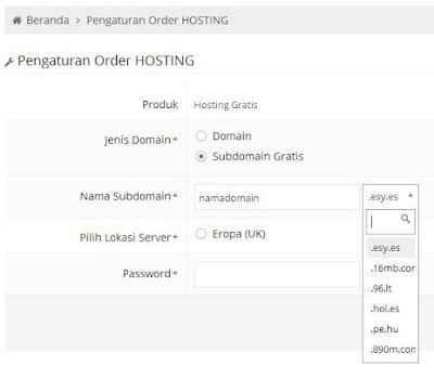 Domain & Hosting Gratis Terbaik, Tak Perlu Membayar Sepeser Pun