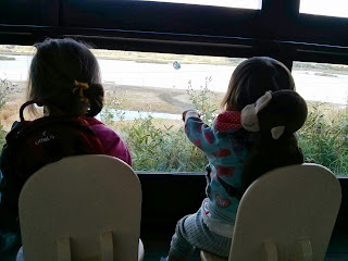 girls bird watching