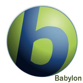 تحميل برنامج الترجمة بابليون Babylon 10 مجانا Babylon.png