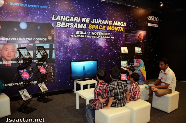 An Astro learning corner