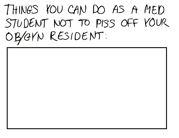 A Cartoon Guide to Becoming a Doctor: Tips for med