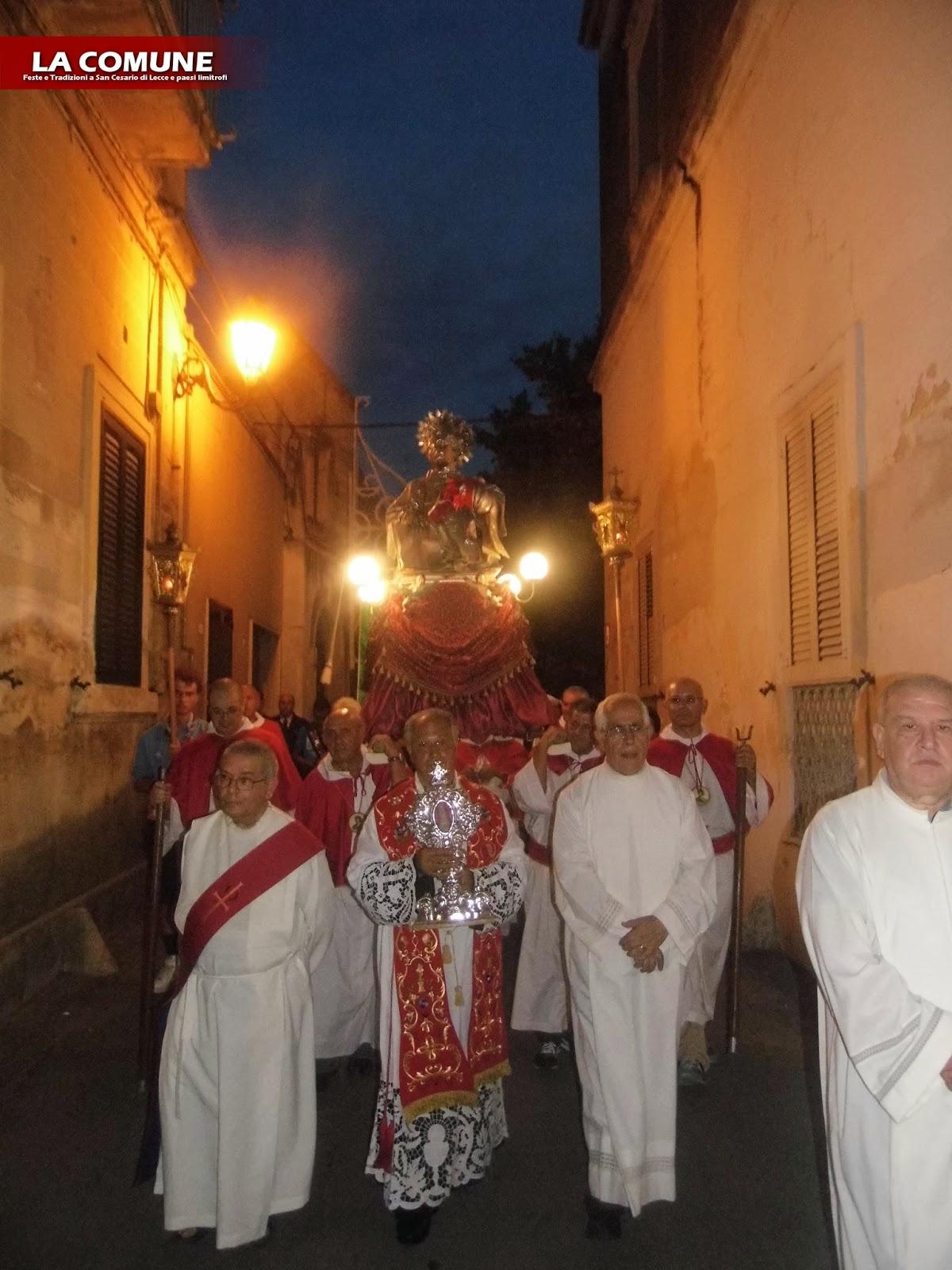 San cesario di lecce in festa per il santo patrono for Albanese arredamenti san cesario lecce