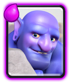 Bowler Card: Epic Card terbaru Clash Royale