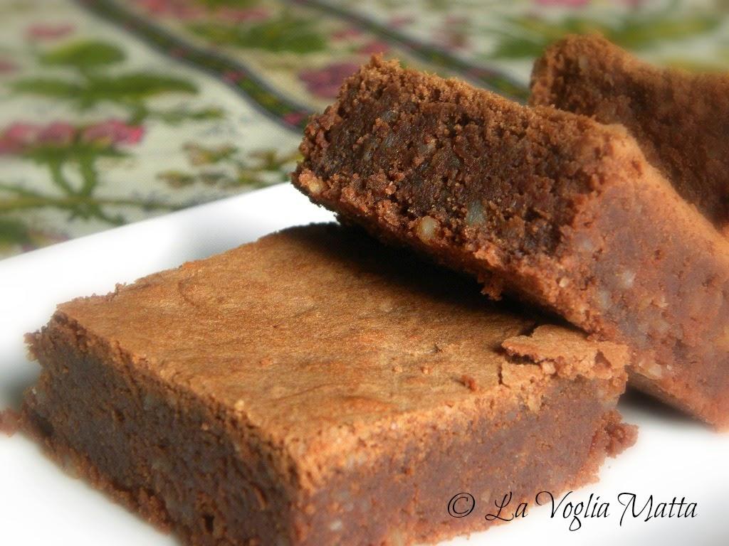 moelleaux al cioccolato e mandorle