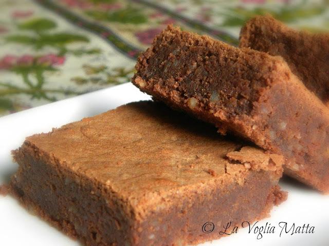 moelleux al cioccolato e mandorle