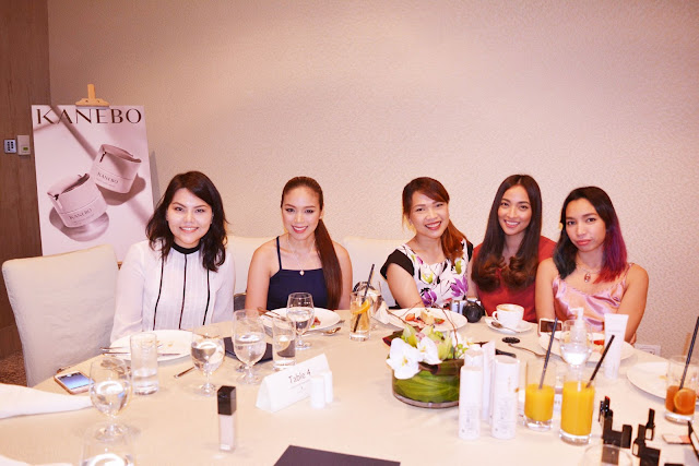 a photo of Nikki Tiu at Kanebo Philippines launch
