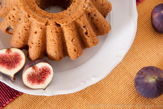 Mind your food g teau aux figues fra ches et confiture de - Cuisiner des figues fraiches ...