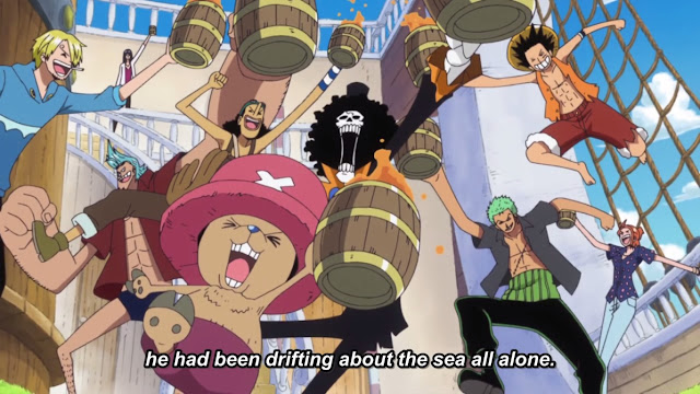 One Piece Episode 751 Curtain Up On A New Adventure Arriving At The Phantom Island Zou
