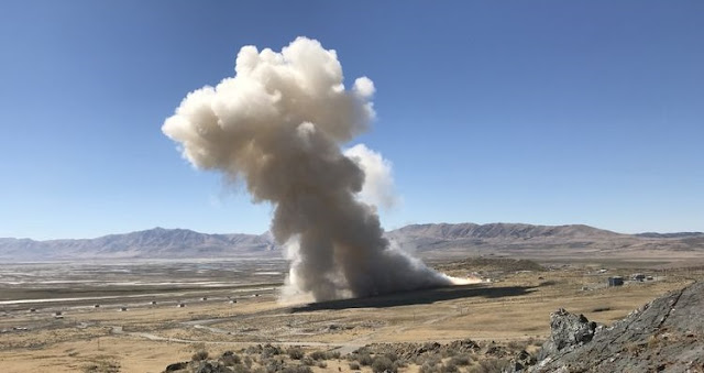 On Sept. 20, 2018, in Promontory, Utah, Northrop Grumman conducted the first ground test of its newly-developed GEM 63 rocket motor that will fly on United Launch Alliance's Atlas V launch vehicle.