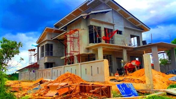Pembinaan rumah banglo