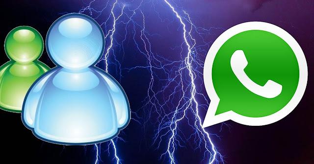 Messenger era el mejor cliente de mensajeri instantanea, hoy en dia whatsapp no es mas que un clon de lo que era MSN adaptado a la tecnologia movil