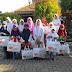 Rumah Zakat Bagikan Paket Kado Lebaran Yatim Kepada 120 Anak Yatim Dhuafa