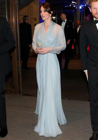 Modern Kate Middleton Wedding Dress Style Illustration - Wedding ...