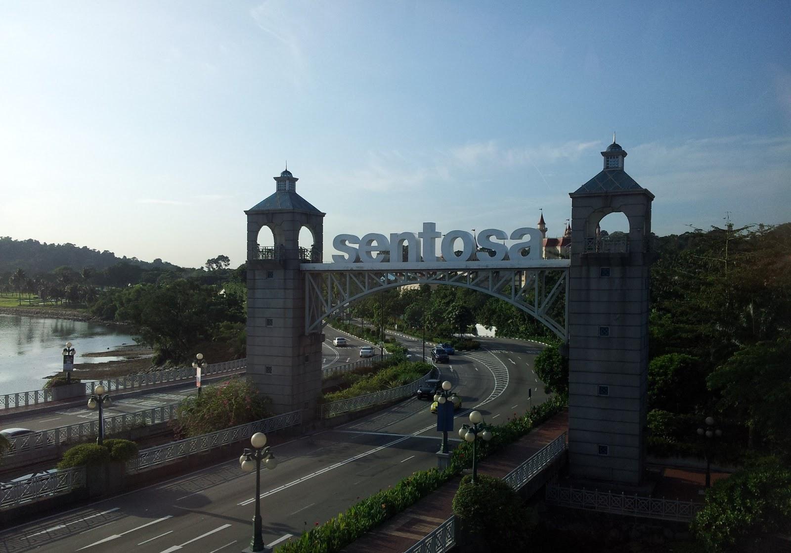 Sentosa Island's gateway