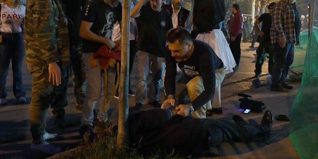 Η τραγική στιγμή που ο άτυχος εικονολήπτης σκοτώθηκε από σαΐτα στην Καλαμάτα (βίντεο)