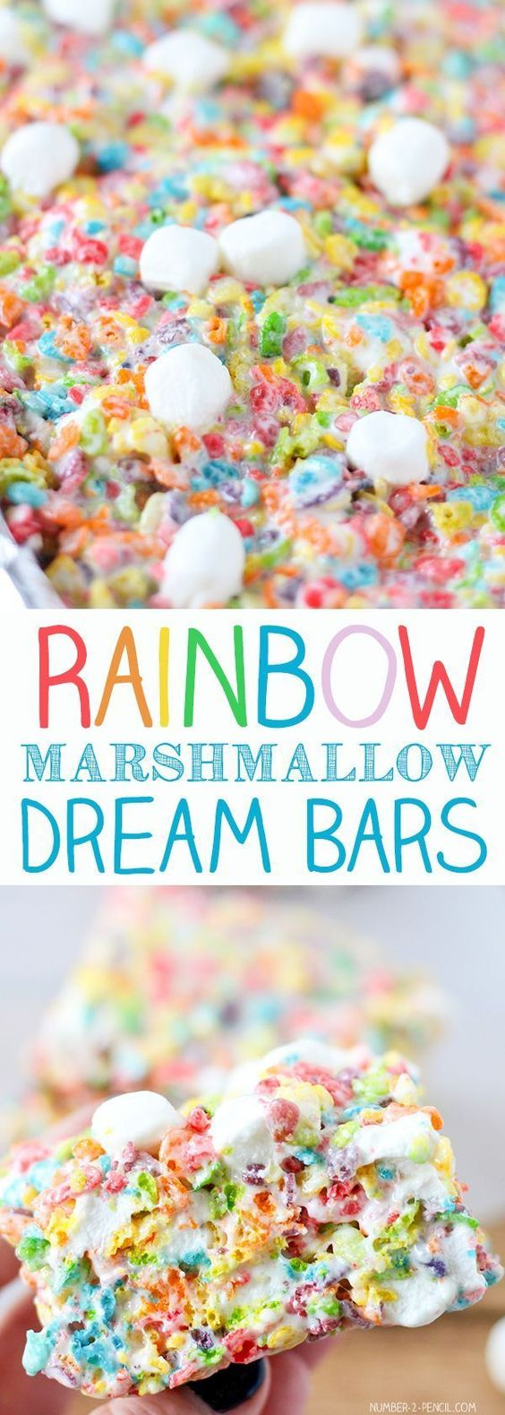 RAINBOW MARSHMALLOW DREAM BARS