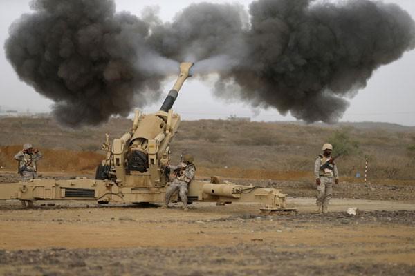 """Rudal patriot Saudi """"cegat"""" Scud yang ditembakkan dari Sanaa"""