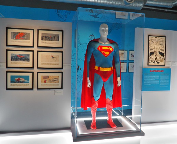 superman exhibition