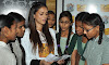 aditi rao hydari visited a government aided school to encourage girl child education @pgshiksha  hyder abad , aditi rao hydari , fashion most wanted ,