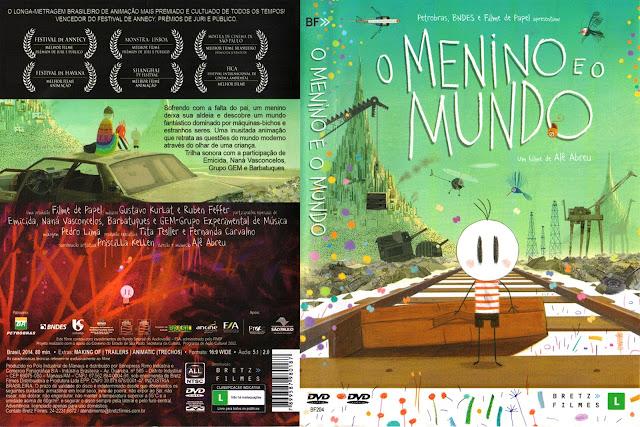 Capa DVD O Menino E O Mundo