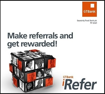 How to Register and Start Earning With GTBank i-Refer Affiliate Program