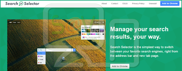 Search Selector