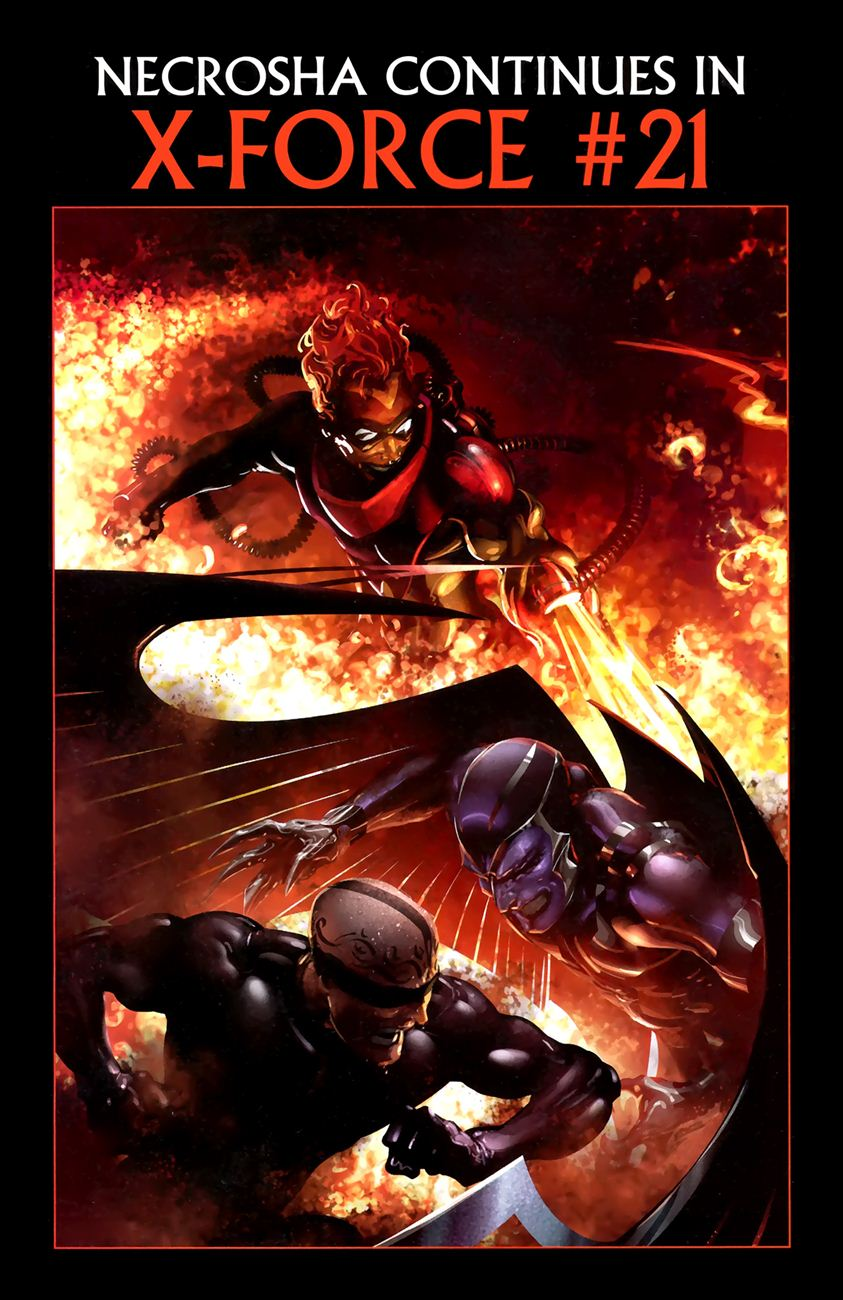 X-Men Necrosha chap 1 trang 49