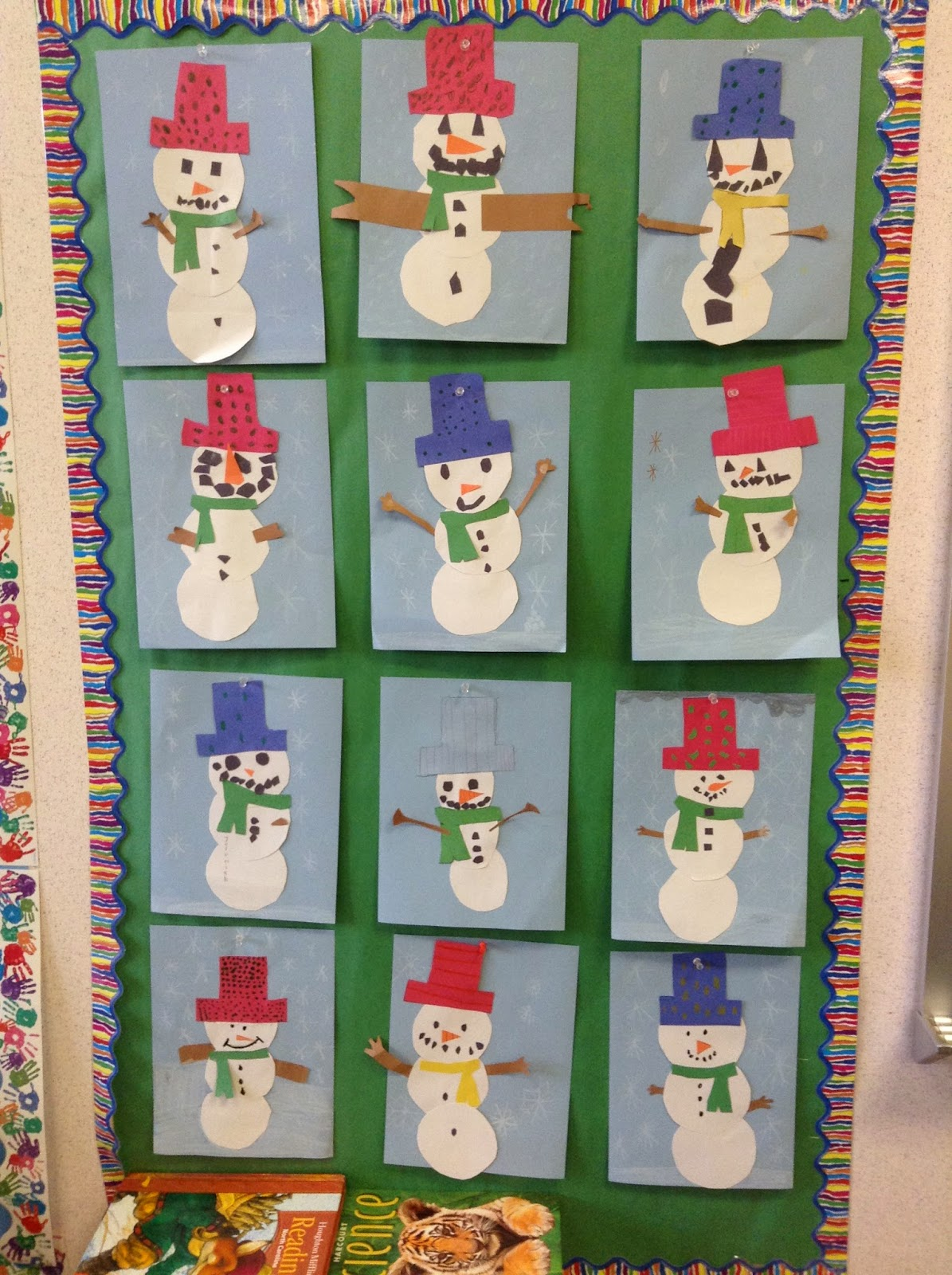 Grasty S 2nd Grade Goo S Fun With Snowmen