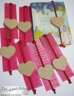 segnalibro inciso personalizzato ciondolo legno elastico