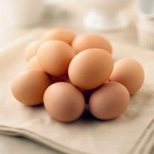Làm trắng da với trứng gà