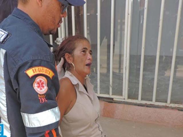 Resultado de imagem para Mulher é encontrada desmaiada com sinais de espancamento no bairro Santa Cruz, em Luis Eduardo Magalhães barreiras noticias