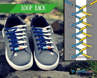 Cara Mengikat Tali Sepatu Dasi (Loop Back)