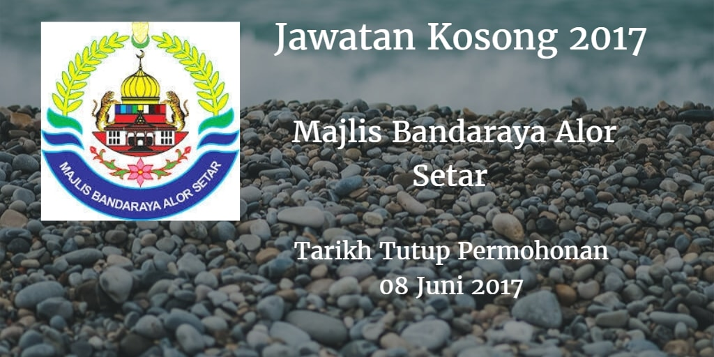 Jawatan Kosong MBAS 08 Juni 2017