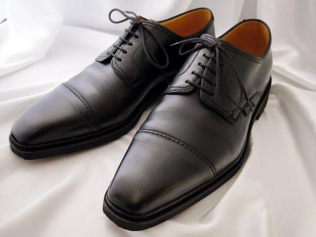パラブーツ ストレートチップ革靴