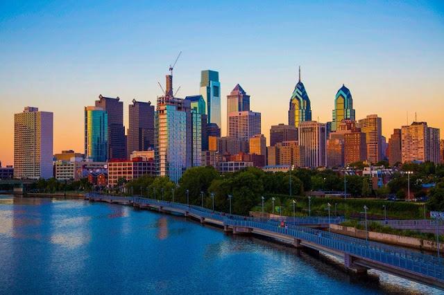 Bate e volta de Nova York à Filadélfia