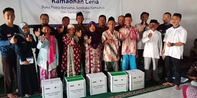 INI di BREBES..Untuk Kedua kalinya MAI Foundation Jakarta  Bagikan Paket Program Ramadhan