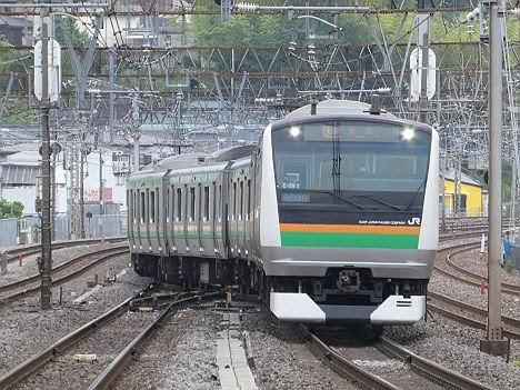 【今週末も運行!】E233系の快速 大崎行き(2018年 渋谷駅高架化工事に伴う運行)