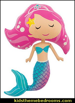 Northstar Mermaid Shaped 45 Inch Foil Balloon