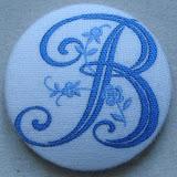 Bouton tissu BT157