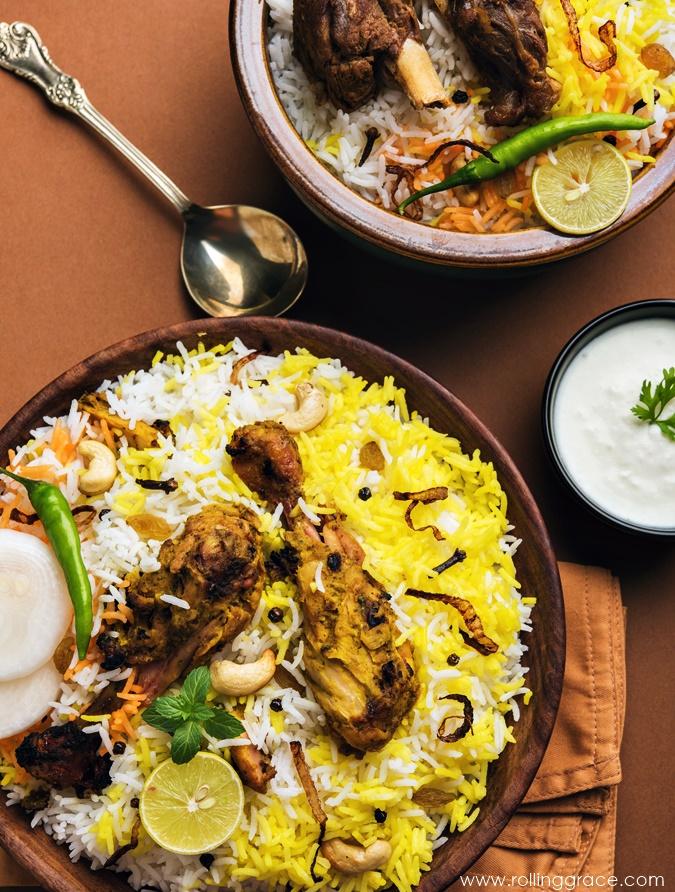 nasi biryani in malaysia