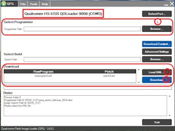 Qualcomm HS USB QDLoader 9008 Tool