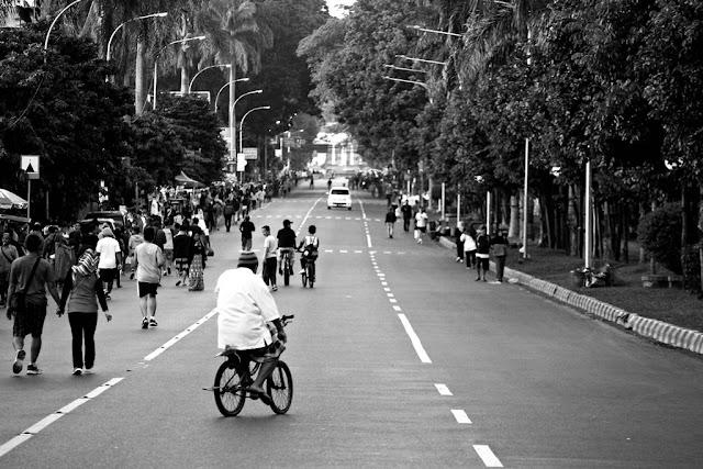Menjelang Car Free Day Bogor