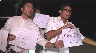 OM TELOLET OM, Ahok, Sandiaga Uno, OM TELOLET OM video, OM TELOLET OM remix, Basuki Tjahaja Purnama, Indonesia, Java