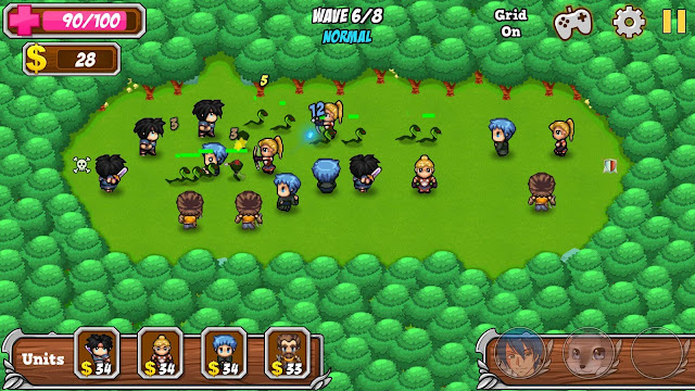 Innotoria Tower Defense Game for Android and iOS gameplay