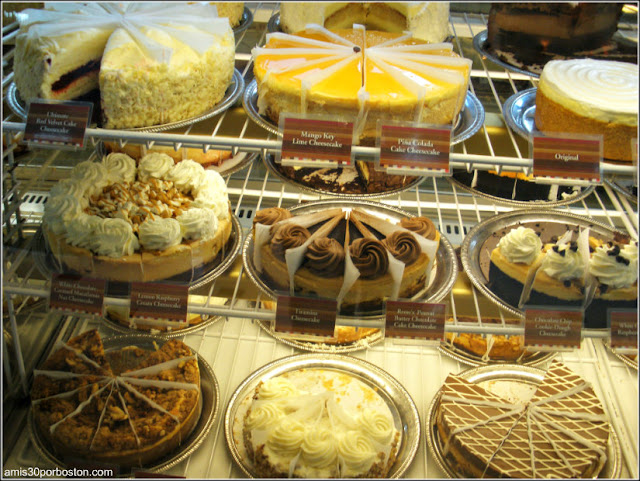 Tartas The Cheesecake Factory: Restaurantes Americanos