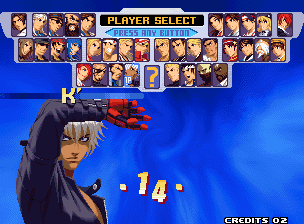 King of Fighters 2000 (Neogeo) - Download Game PS1 PSP Roms Isos